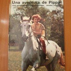 Tebeos: FOTONOVELA UNA AVENTURA DE PIPPA (PIPPI) EDITORIAL JUVENTUD, 1975. Lote 136736446