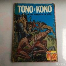 Tebeos: TONO Y KONO Nº 3 LOS GEMELOS DE LA SELVA. Lote 136856206
