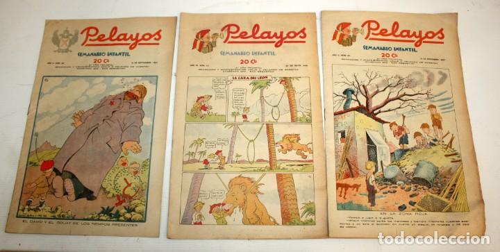 Tebeos: LOTE DE 35 SEMANARIO INFANTIL PELAYOS - Foto 2 - 137405662