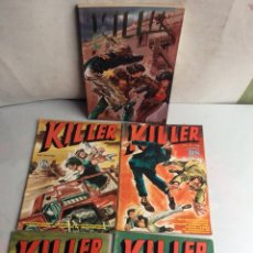 Tebeos: KILLER - COLECCION COMPLETA 8 NÚMEROS-EDITA : EDICIONES DALMAU SOCIAS. Lote 137432206