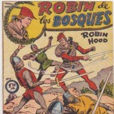 Tebeos: ROBÍN DE LOS BOSQUES Nº 1. FERMA 1956. Lote 137524910