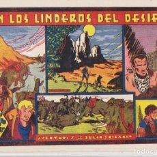 Tebeos: JULIO Y RICARDO. EN LOS LINDEROS DEL DESIERTO. VALENCIANA 1944. Lote 137525464