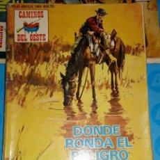 Tebeos: TEBEOS-COMICS CANDY - CAMINOS DEL OESTE - 93 - PROD. EDITORIALES - 1971 - RARO - *BB99. Lote 137939450