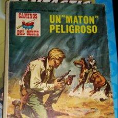 Tebeos: TEBEOS-COMICS CANDY - CAMINOS DEL OESTE - 80 - PETRONIO - 1971 - RARO - *BB99. Lote 137939638
