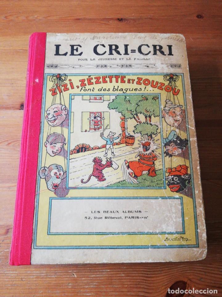LE CRI-CRI POUR LA JEUNESSE ET LA FAMILLE. 1925 (Tebeos y Comics - Tebeos Clásicos (Hasta 1.939))