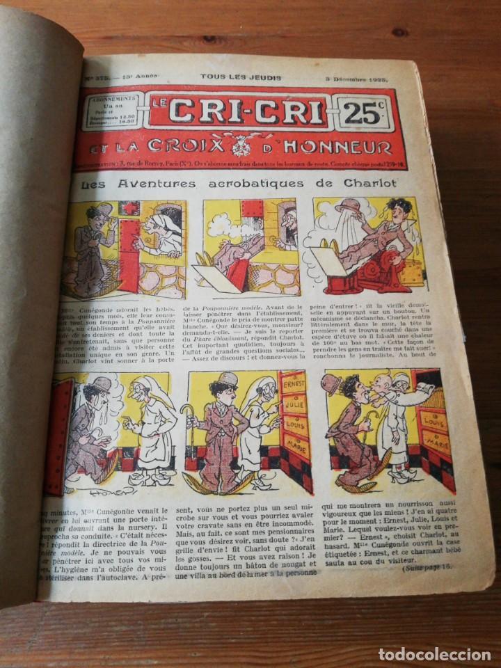 Tebeos: Le Cri-Cri pour la jeunesse et la famille. 1925 - Foto 5 - 138559262