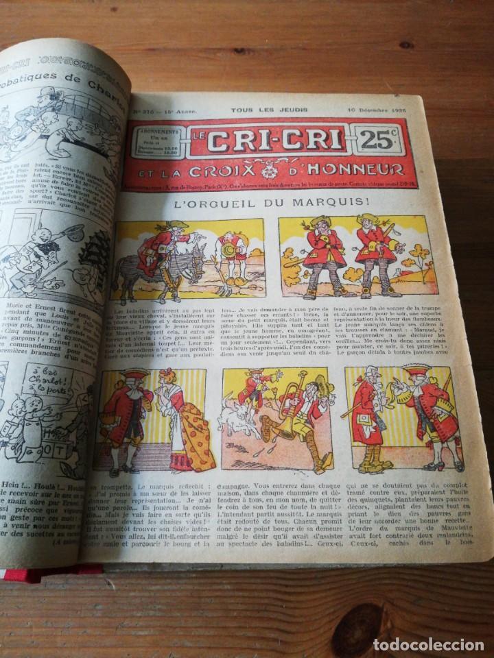 Tebeos: Le Cri-Cri pour la jeunesse et la famille. 1925 - Foto 7 - 138559262