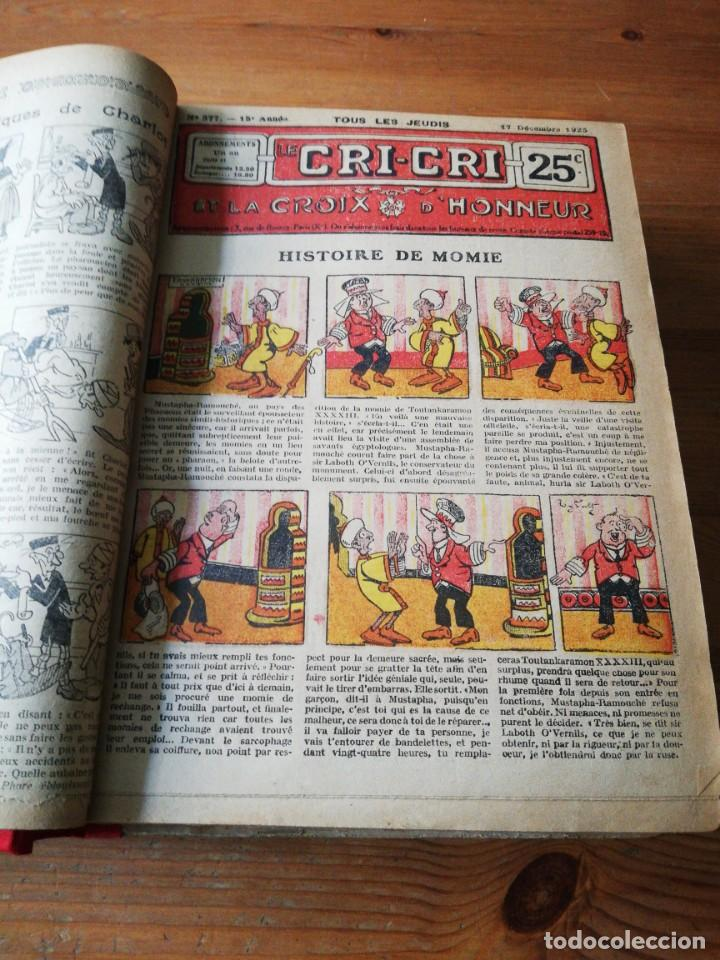Tebeos: Le Cri-Cri pour la jeunesse et la famille. 1925 - Foto 8 - 138559262