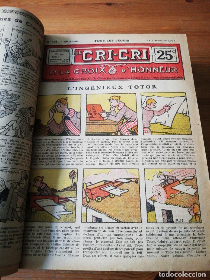 Tebeos: Le Cri-Cri pour la jeunesse et la famille. 1925 - Foto 10 - 138559262