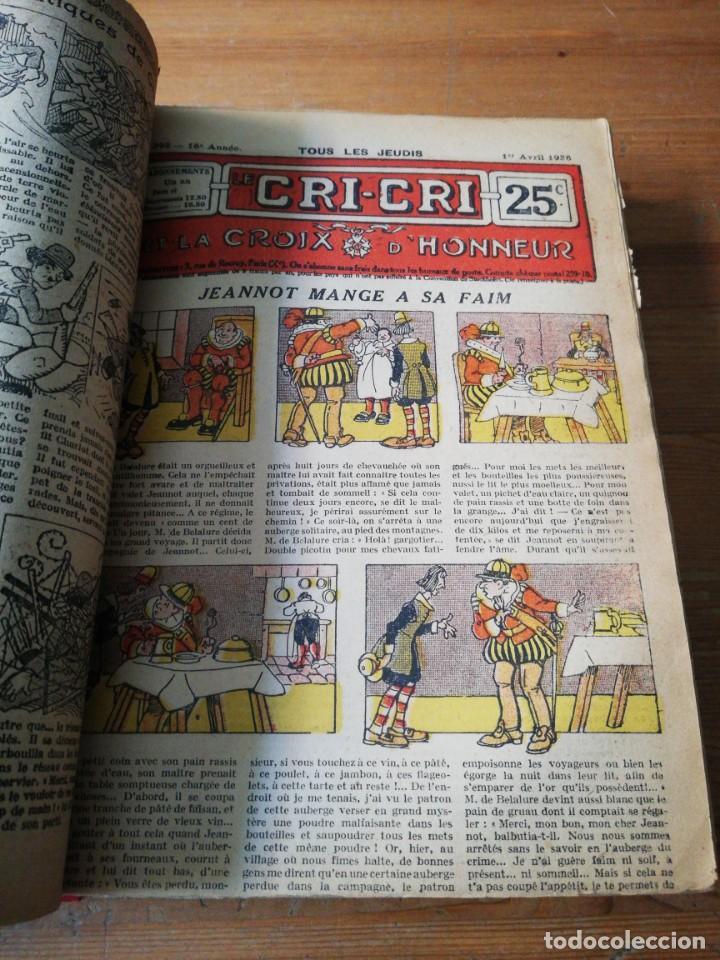 Tebeos: Le Cri-Cri pour la jeunesse et la famille. 1925 - Foto 11 - 138559262