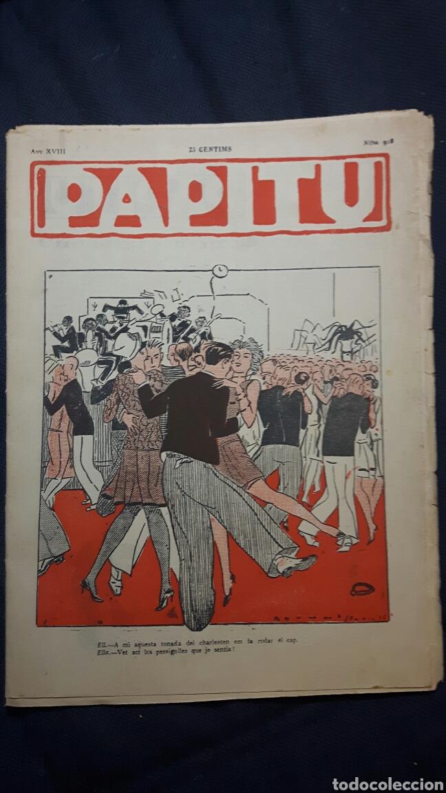 PAPITU N.918 (Tebeos y Comics - Tebeos Clásicos (Hasta 1.939))