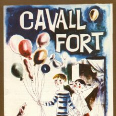 Tebeos: CAVALL FORT - Nº 16. Lote 139106102