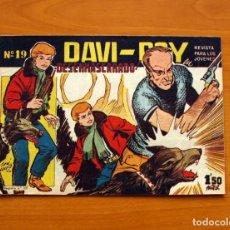 Tebeos: DAVI-ROY, Nº 19, DESENMASCARADO - EDITORIAL CREO 1959 . Lote 139494426