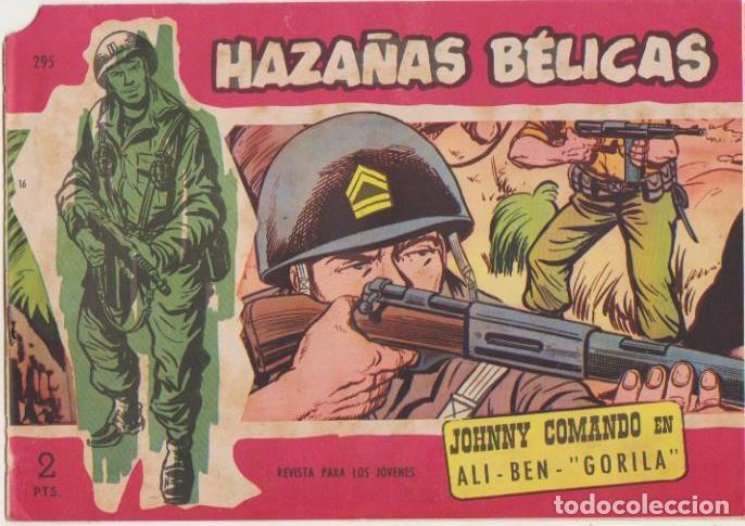 HAZAÑAS BÉLICAS 2ª Nº 295. TORAY 1950. (Tebeos y Comics - Tebeos Otras Editoriales Clásicas)