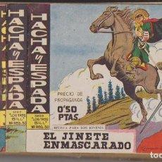 Tebeos: HACHA Y ESPADA. MAGA 1961. LOTE DE 47 EJEMPLARES.. Lote 139838852