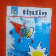 Tebeos: TINTIN SEMANARIO PARA JOVENES AÑO II ... Nº 8 - BUEN ESTADO.. Lote 139903090