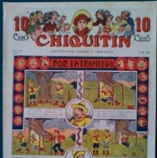 Tebeos: EL CHIQUITIN Nº 4O3 . Lote 140325014