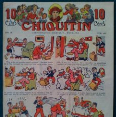 Tebeos: CHIQUITIN Nº 415. Lote 140327046