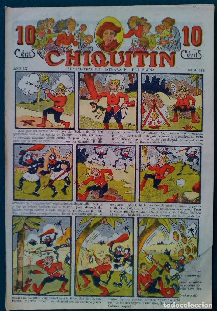 CHIQUITIN Nº 411 (Tebeos y Comics - Tebeos Clásicos (Hasta 1.939))
