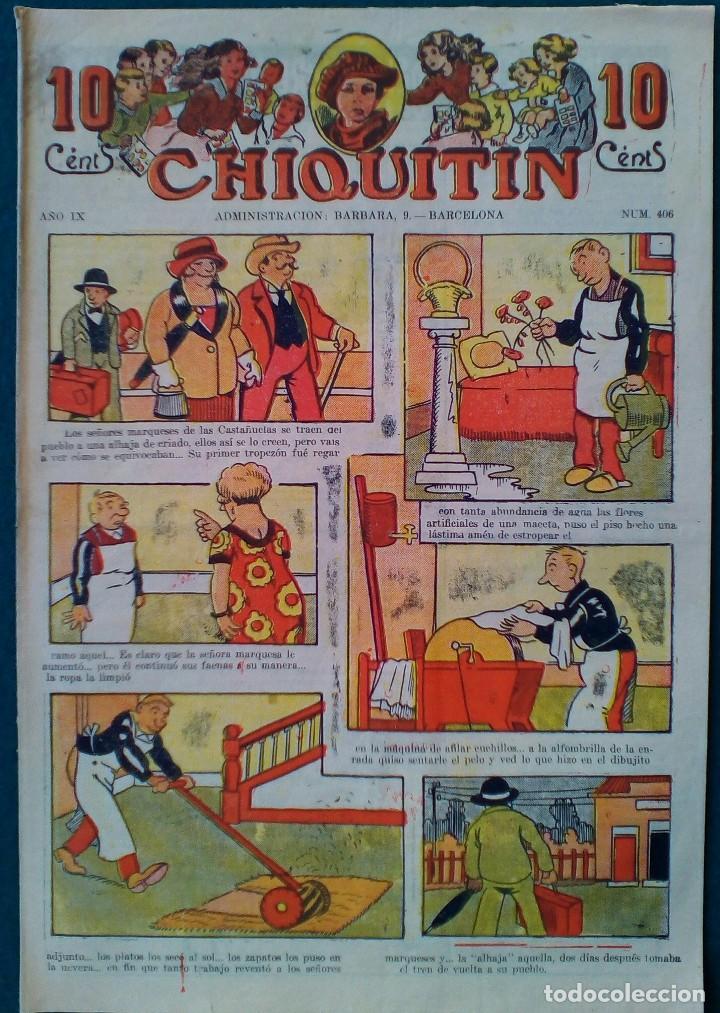 CHIQUITIN Nº 406 (Tebeos y Comics - Tebeos Clásicos (Hasta 1.939))