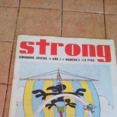 Tebeos: STRONG - SEMANARIO JUVENIL - NUMERO 5 - 8 PESETAS. Lote 140386538