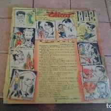 Tebeos: 1942 - LOS DIBUJANTES DE CHICOS VISTOS POR ELLOS MISMOS EN 1942. Lote 140387398