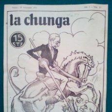 Tebeos: LA CHUNGA, REVISTA SATÍRICA ANTICLERICAL DE LA SEGUNDA REPÚBLICA - Nº 20 - DE 1932. Lote 140515978