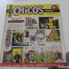 Tebeos: CHICOS Nº 44. EDITORIAL CID 1954. ORIGINAL C12. Lote 140622422