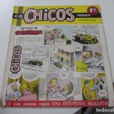 Tebeos: CHICOS Nº 43. EDITORIAL CID 1954. ORIGINAL C12. Lote 140622658