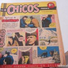 Tebeos: CHICOS Nº 46. EDITORIAL CID 1954. ORIGINAL C12. Lote 140622998