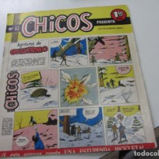 Tebeos: CHICOS Nº 47 EDITORIAL CID 1954. ORIGINAL C12. Lote 140623594