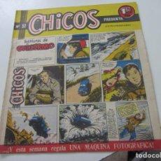 Tebeos: CHICOS Nº 51 EDITORIAL CID 1954. ORIGINAL C12. Lote 140623806