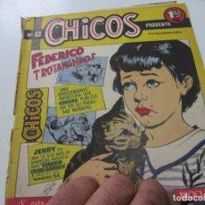 Tebeos: CHICOS Nº 53 EDITORIAL CID 1954. ORIGINAL C12. Lote 140624078