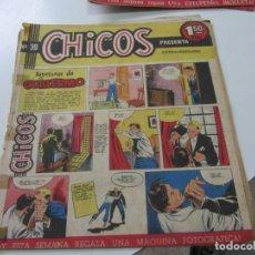 Tebeos: CHICOS Nº 39 EDITORIAL CID 1954. ORIGINAL C12. Lote 140624318