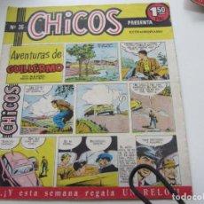 Tebeos: CHICOS Nº 36 EDITORIAL CID 1954. ORIGINAL C12. Lote 140624934