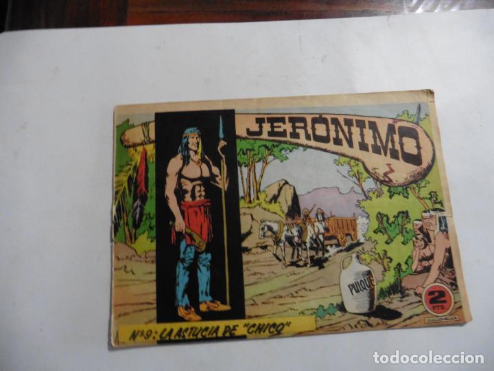 Tebeos: JERONIMO 26 CUADERNILLOS ORIGINALES GALAOR - Foto 2 - 141555226