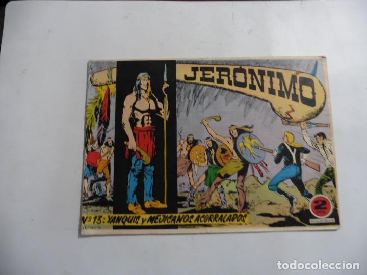 Tebeos: JERONIMO 26 CUADERNILLOS ORIGINALES GALAOR - Foto 3 - 141555226