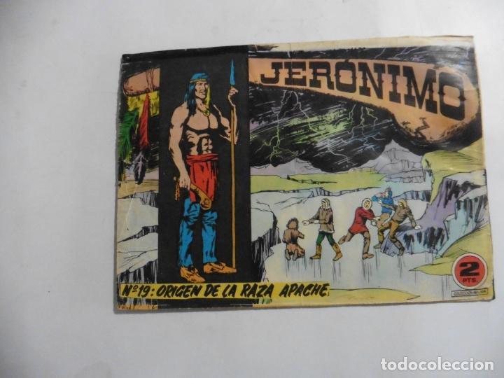 Tebeos: JERONIMO 26 CUADERNILLOS ORIGINALES GALAOR - Foto 8 - 141555226