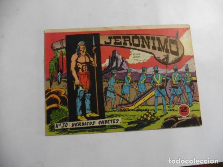 Tebeos: JERONIMO 26 CUADERNILLOS ORIGINALES GALAOR - Foto 17 - 141555226