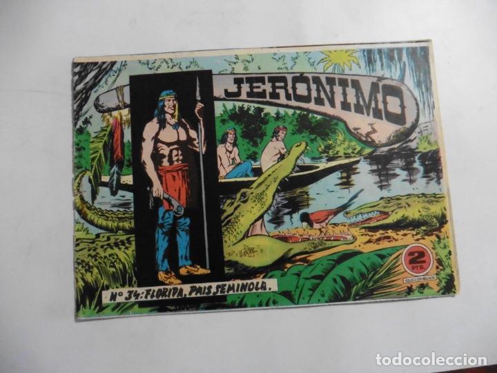 Tebeos: JERONIMO 26 CUADERNILLOS ORIGINALES GALAOR - Foto 19 - 141555226