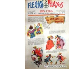 Tebeos: FLECHAS Y PELAYOS Nº 27. SEMANARIO NACIONAL INFANTIL. 11 JUNIO 1939. Lote 53890980