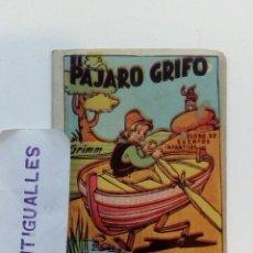 Tebeos: EL PAJARO GRIFO - TESORO DE CUENTOS INFANTILES - EDITORIAL BRUGUERA,EL GATO NEGRO.. Lote 141726638