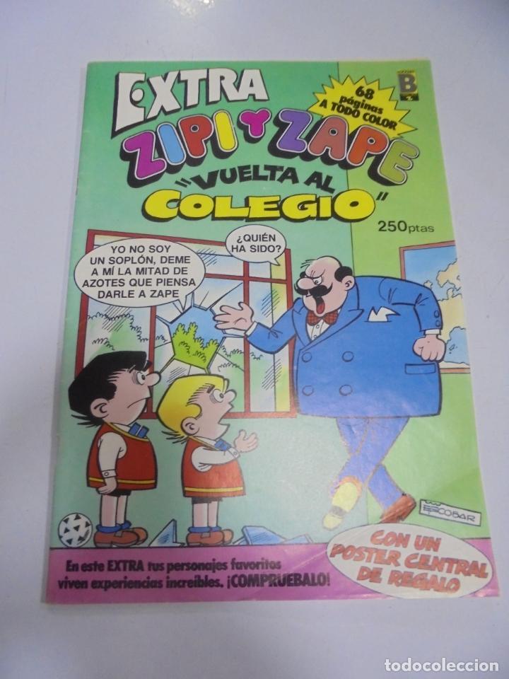 TEBEO. EXTRA ZIPI Y ZAPE. VUELTA AL COLEGIO. CON POSTER CENTRAL (Tebeos y Comics - Tebeos Otras Editoriales Clásicas)