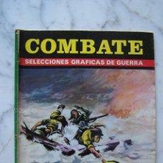 Tebeos: COMBATE. MAKIN LAS MURALLAS DEL TERROR/ EL MIEDO ES EL ENEMIGO. SELECCIONES GRÁFICAS DE GUERRA, 1975. Lote 142077778