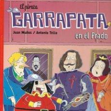Tebeos: EL PIRATA GARRAPATA EN EL PRADO ILUSTRACIONES - TELLO DEL 2008. Lote 142078854