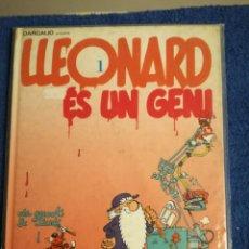 Tebeos: LLEONARD ES UN GENI DE DARGAUD.ES LA 1° EDICION DE DICIEMBRE DEL 1991.. Lote 142205965