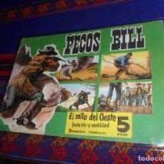 Tebeos: CUADERNOS LEJANO OESTE ORIGINAL Nº 11. PECOS BILL. EDIGESA 1958. 5 PTS. MUY BUEN ESTADO. RARO.. Lote 142487286