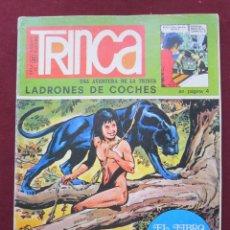 Tebeos: TRINCA - Nº 2 -1970-GARCÍA PIZARRO-CALATAYUD-BERNET TOLEDANO-PALACIOS-ARRANZ-GUINOVART-DIFÍCIL-9796. Lote 142966837