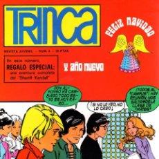 Tebeos: TRINCA - Nº 4- CALATAYUD-JUAN ARRANZ-ANTONIO H.PALACIOS-CHIQUI-BERNET TOLEDANO-1970-MUY DIFÍCIL-9797. Lote 142968386