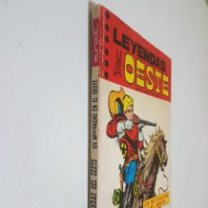 Tebeos: LEYENDAS DEL OESTE. Nº 4.EUREDIT.. Lote 142979654